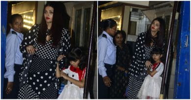 In Pics: Bachchans Turn Up In Full Force For Aaradhya's Annual School Day Event