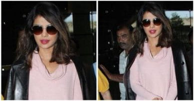 Just In: Priyanka Chopra Is Back In Mumbai From New York!