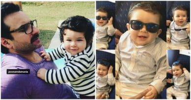 OMG! Taimur Ali Khan Is Stealing Hearts With His Kaala Chashma Act On His First B'Day