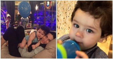 Aunt Karisma Kapoor Has A Beautiful Wish For Nephew Taimur On His First B'Day