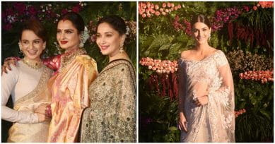 IN PICS: Bollywood's Leading Ladies Stepped Out Looking Like A Dream At Virushka's Wedding Reception