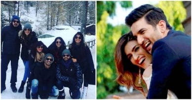 IN PICS: Kriti Sanon & Sushant Singh Rajput Are Holidaying In The Swiss Alps