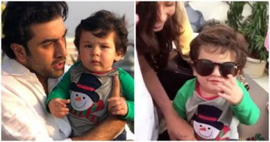 VIDEO ALERT: Taimur Wearing Shades & Doing The Bhangra Are The Cutest Things You Will See Today