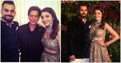 VIDEO INSIDE: King Khan Recites Poem & Does A Bhangra Dance On Virushka's Big Night