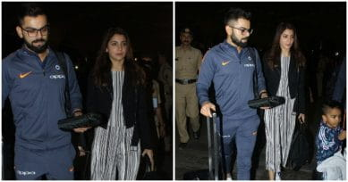 IN PICS: Post Wedding Celebrations, Virat-Anushka Spotted Leaving For South Africa