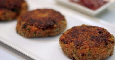Healthy Snacks: Veg Soya Kebabs