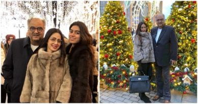 In Pics: Sridevi Enjoys Time Out With Family In Moscow