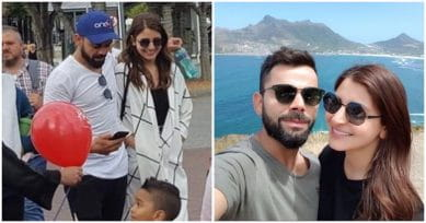 MUST-SEE PICS: Virat Kohli & Anushka Sharma Are Spending Quality Time Together In Cape Town