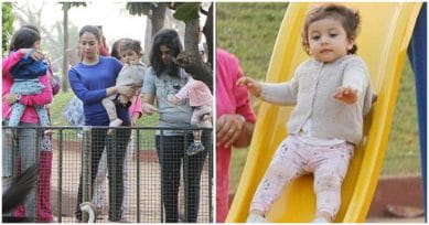 IN PICS: Misha Kapoor Enjoys A Day Out In The Park With Mum Mira Rajput