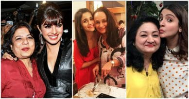 10 Bollywood Celebrities Striking A Pose With Their Moms