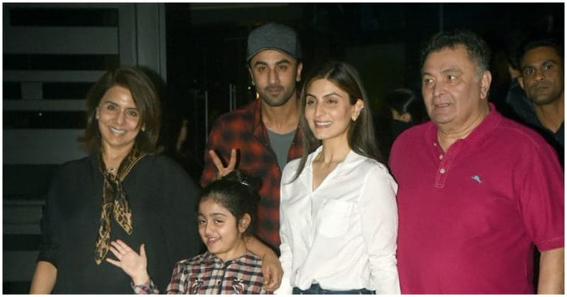 Ranbir Kapoor Enjoys Quiet Dinner With Family After Returning From Israel