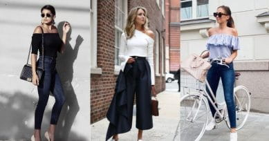 A Guide On How To Wear Asymmetric Cold Shoulder Tops