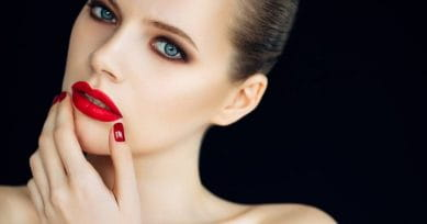 How To Create Plump, Fuller Lips Using Makeup