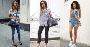 5 Denim+Stripe Styles To Fall In Love With