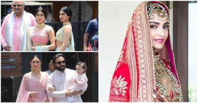 IN PICS: Friends & Family Turn Up For Sonam Kapoor's Wedding
