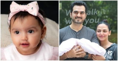 First Pic: Esha Deol Shares Adorable Picture Of Her First Born