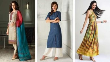 5 Kurti Designs To Rock At Your Workplace