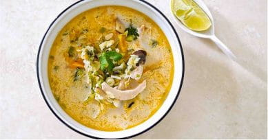 Lip-Smacking Chicken Coconut Soup