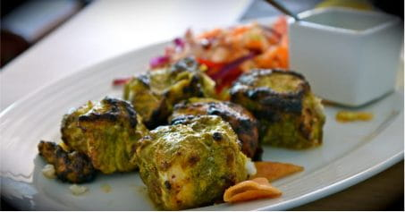 Mouth-Watering Hariyali Chicken Tikka