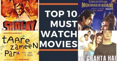 Top 10 MUST Watch Bollywood Films