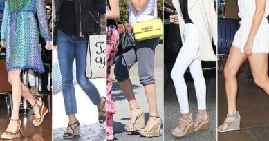 5 Fashion Styles To Go With Your Wedges