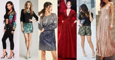 How To Wear Sequins!