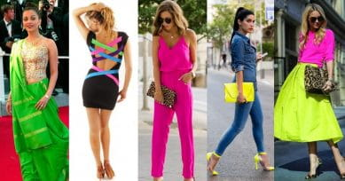 Up Your Fashion Game With Neon Colours!
