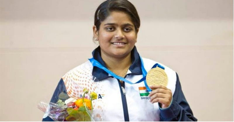 Rahi Sarnobat Becomes The First Indian Female Shooter To Win Gold At Asian Games