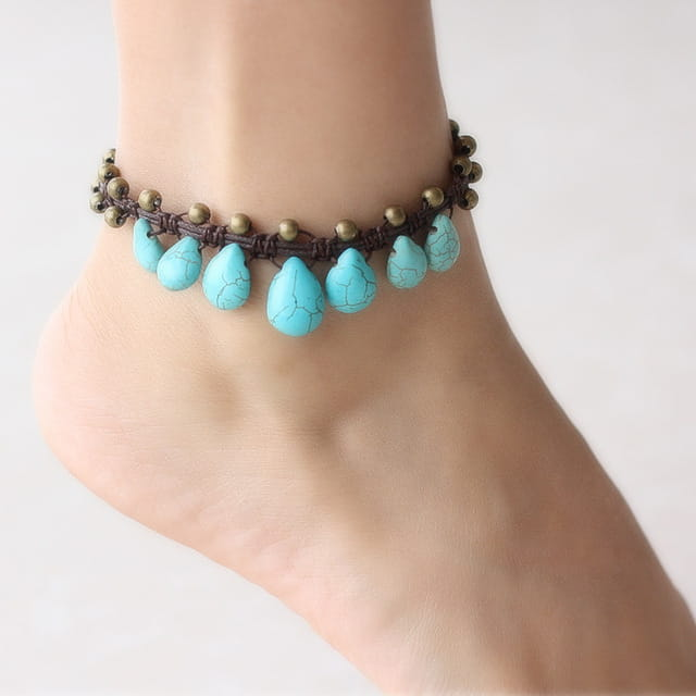 Stones Anklets