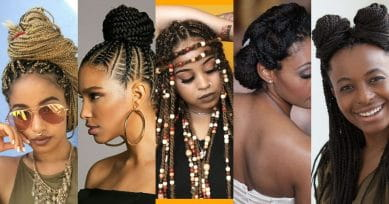 Go Exotic With Box Braids This Season
