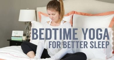 6 Bedtime Yoga Poses For Better Sleep