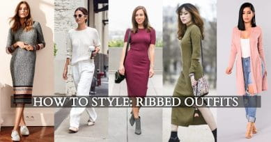 3 Ways You Can Style Ribbed Outfits This Season!