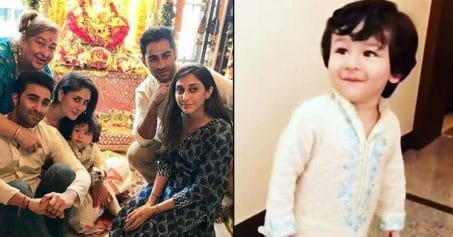 Taimur Ali Khan Is At His ADORABLE Best For Ganesh Utsav Celebrations