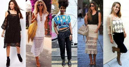 How To Wear Crochet All Day