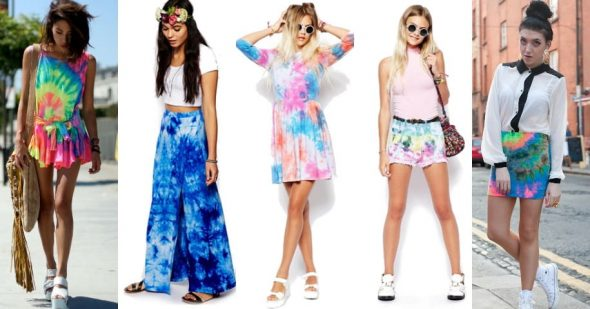 How To Style Tie-Dye Outfits For Everyday Looks