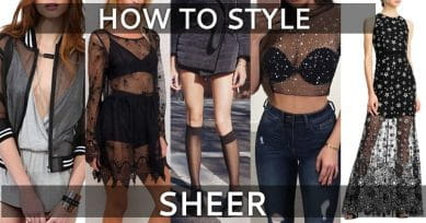 6 Ways To Add Anything Sheer In Your Closet
