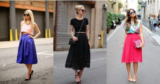 5 Stylish Tops You Can Pair With A Midi Skirt