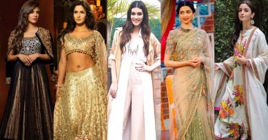 Festive Fashion Inspiration From Bollywood Actresses