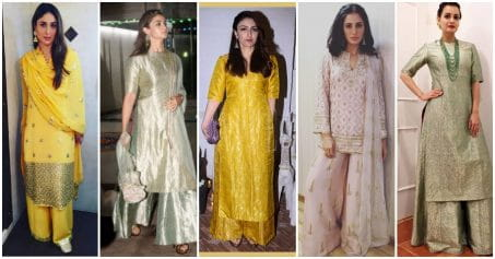 5 Kurta-Palazzo Sets You Can Wear This Karva Chauth