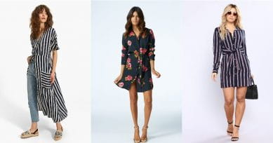 5 Ways Of Styling The Classic Shirt Dress
