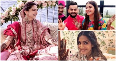 Bollywood And TV Brides In Interesting Mehendi Designs We Loved!