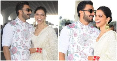 IN PICS: The Many Moods Of DeepVeer As They Set Off To Bengaluru