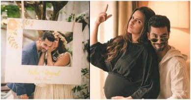 FIRST PIC: Neha Dhupia Gives Us First Glimpse Of Daughter; Reveals Her Name