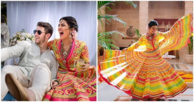 PICS INSIDE: The Priyanka Chopra-Nick Jonas Mehendi Ceremony Was A Super Fun Affair