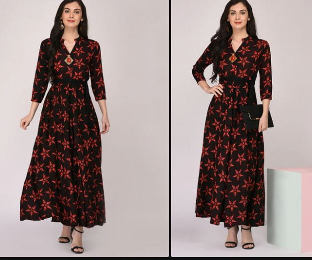 Types Of Floral Kurtas