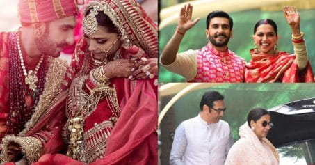 DeepVeer Back To Homeland, Head Straight For Griha Pravesh (Pics Inside)