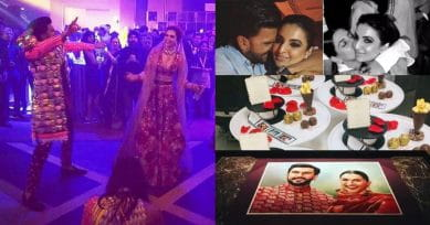 Pics & Videos Inside: Ranveer's Sister Ritika Bhavnani Threw A Quirky And Fun Wedding Party For DeepVeer