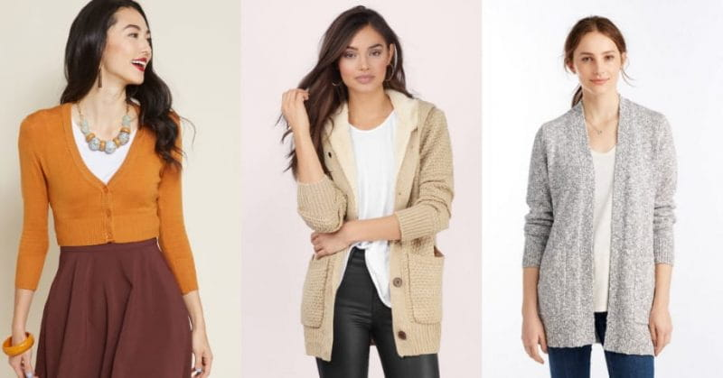 5 Types of Cardigans You Must Own This Winter