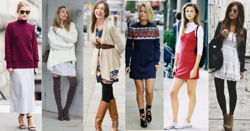How To Style Your Summer Dresses In Winter