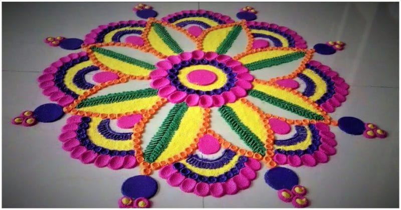 12 Types Of Rangoli Design You Must Try This Diwali